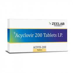 Acivix-200 Antiviral Tablets