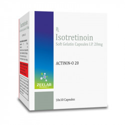 Actinin-O 20 Softgel Capsule